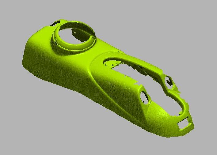 3Dscan van bekerhouder