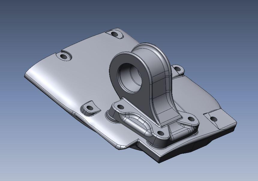 3D model onderdelen oldtimer