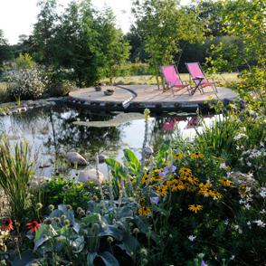 Wasser im Garten. Planung + Bau