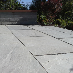 Terrasse Sandstein Klinker