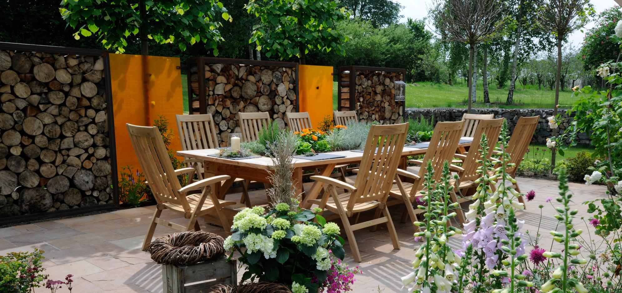 Wie möchten Sie im Garten leben?