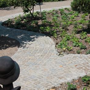 Neuanlagen im Garten führt zu neuen Wegen