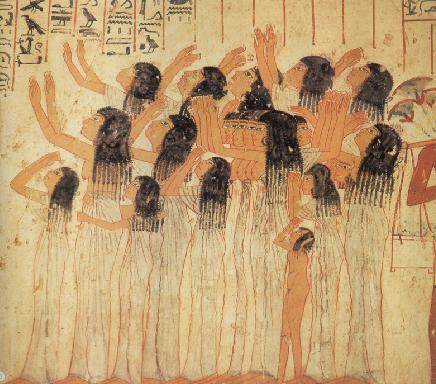 Pleureuses égyptiennes