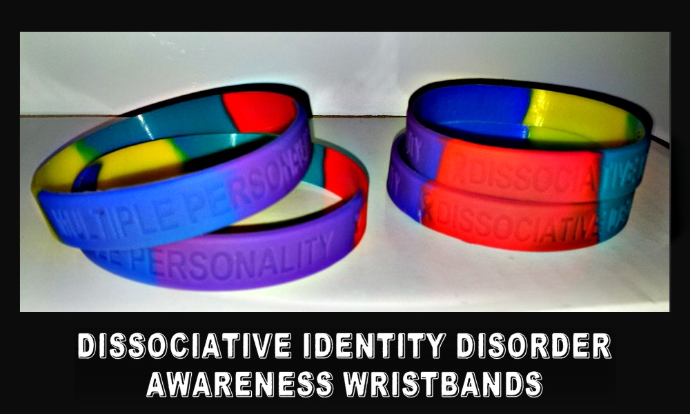 Dissociative Identity Disorder / Multiple Personality Wristbands