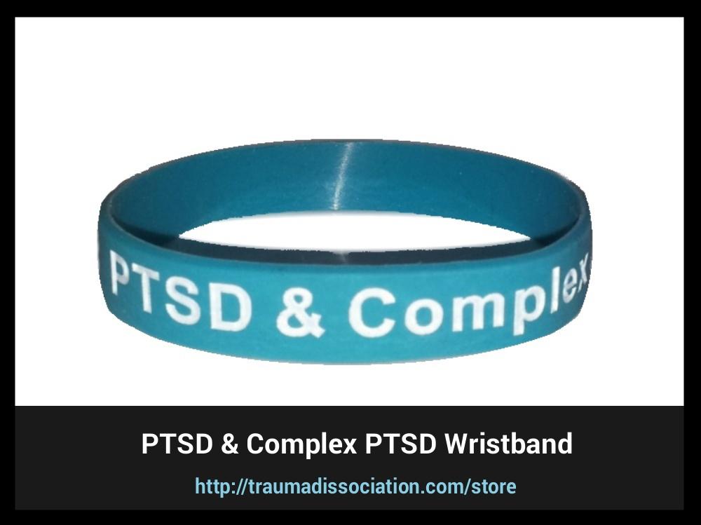 PTSD and Complex awareness PTSD Wristband