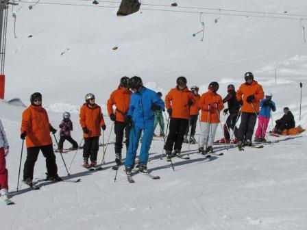 Wintersportlager in Saas Grund