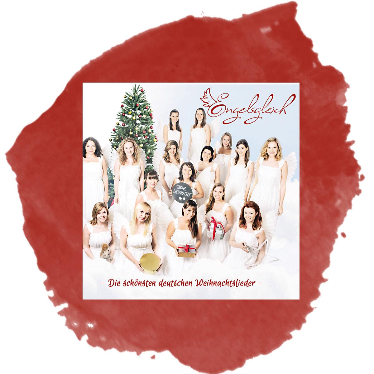 Die Schönsten Deutsche Weihnachtslieder.Das Weihnachtsalbum Engelsgleich Die Schönsten Deutschen Weihnachtslieder