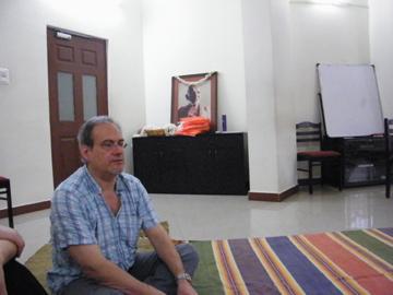 Jean-Yves Deffobis à Madras