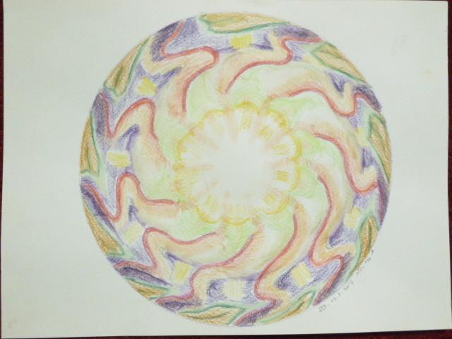 Du silence de l'instant, advient formes mouvements couleurs