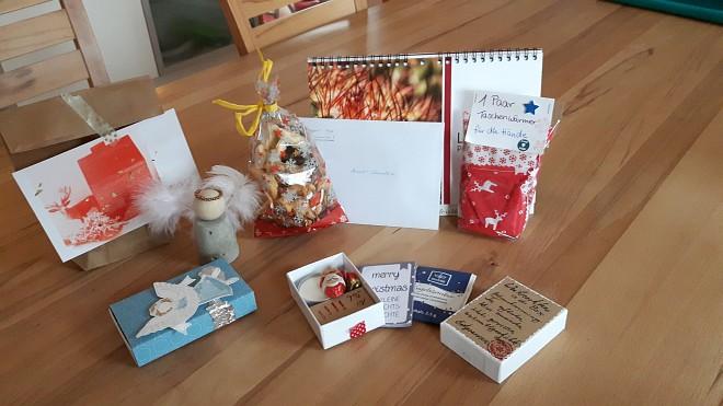 Wunderschöne Geschenke und Mitbringsel meiner lieben Gäste - ihr seid einfach zu gut zu mir!