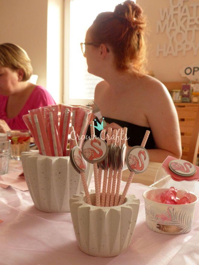 Strohhalme für die Erdbeer-Limetten-Minz-Bowle - klick auf das Bild, um zum Rezept zu kommen!