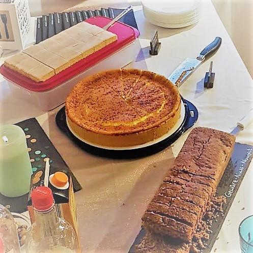 ... und natürlich leckerer Kuchen! ;-)