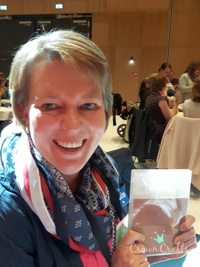 Silke hat bei der Prize Patrol gewonnen - ein Stempelset aus dem neuen Katalog!