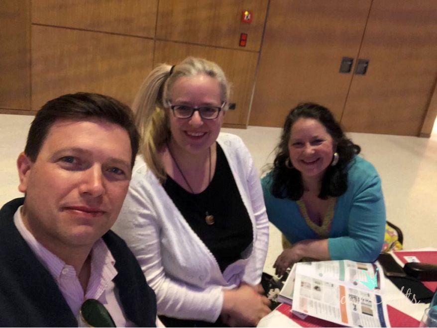 Selfie mit Tanja und Stefan Strumpf - Business Development Manager für Deutschland und Österreich