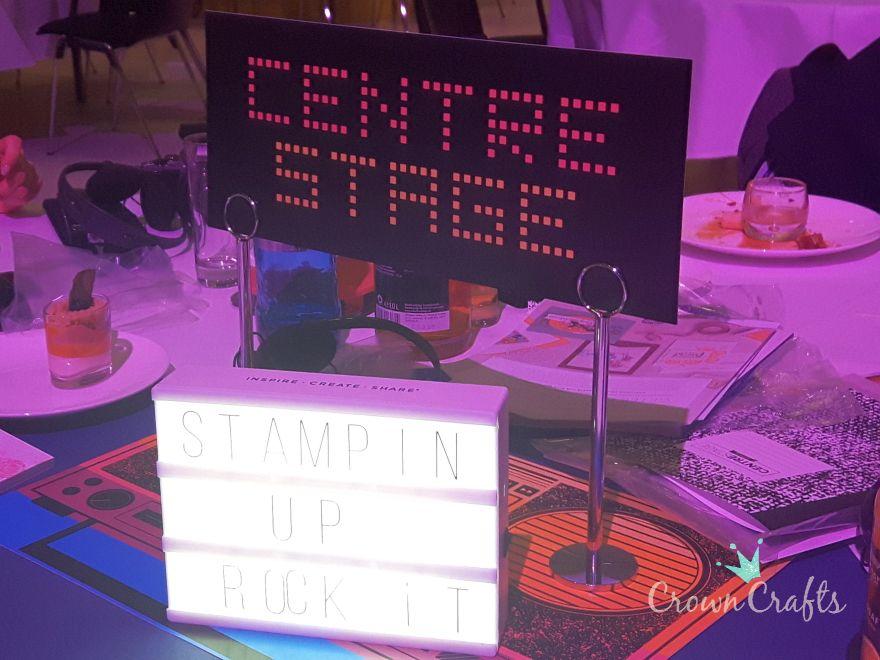 Freitag Abend: CentreStage, die Stampin' Up!-Veranstaltung für Führungskräfte...