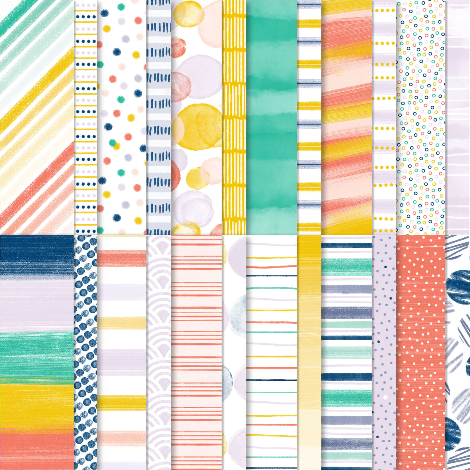 """152490 - Designerpapier """"Jede Menge Muster"""""""