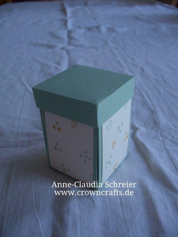 So unscheinbar, wie diese Schachtel außen aussieht, ist sie beileibe nicht...