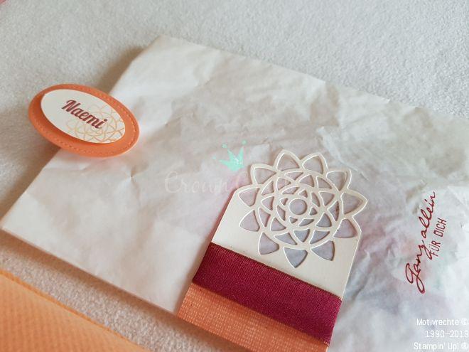 ...ein kleines Tütchen mit meinen Lieblingssüßigkeiten von früher - für jeden Gast...