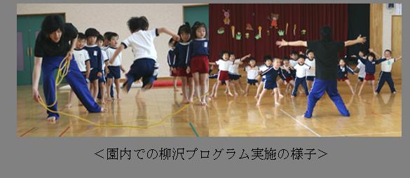 実践の様子 柳沢運動プログラム