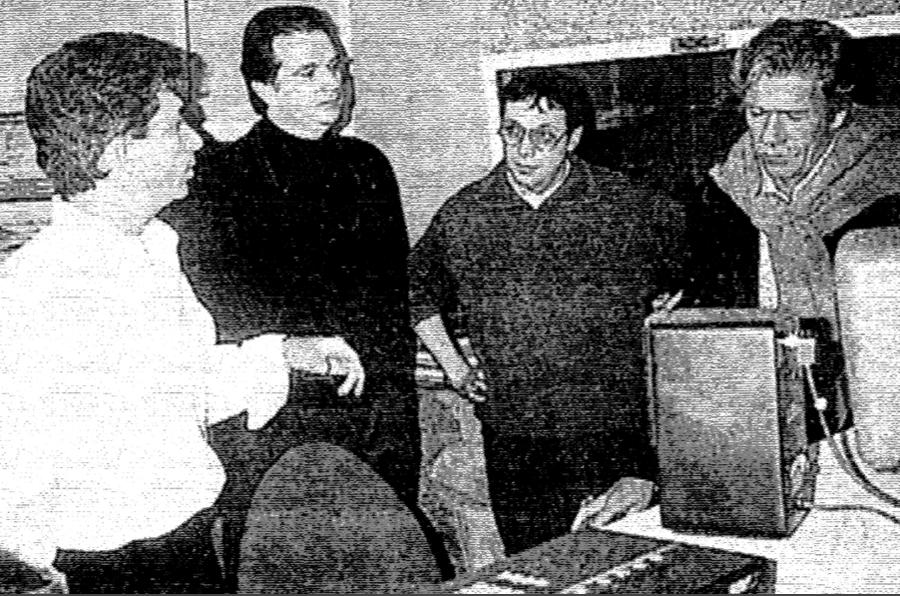 De gauche à droite - Gérard VERMONT - Pierre BILLON