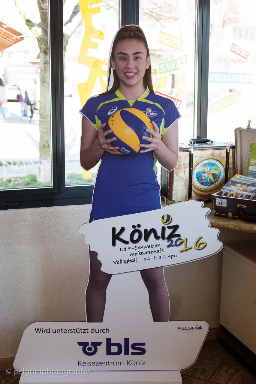 Sponsoring SM U19 Köniz (2016) - Fotos für Stehfiguren