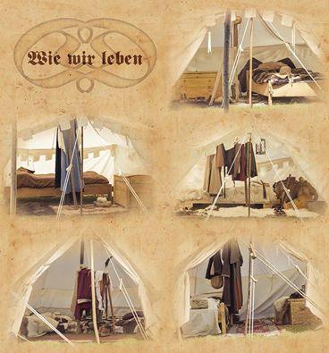 Zelte von innen