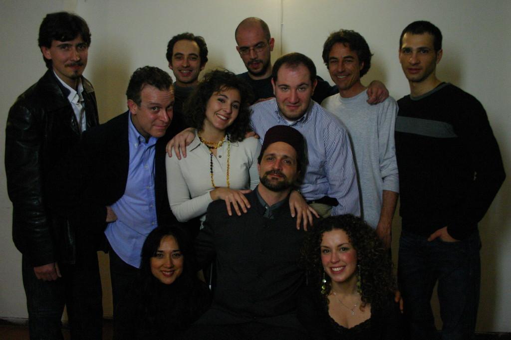 """Maggio 2006 - Foto di Gruppo Cast 1 """"L'Impresario delle Smirne"""""""