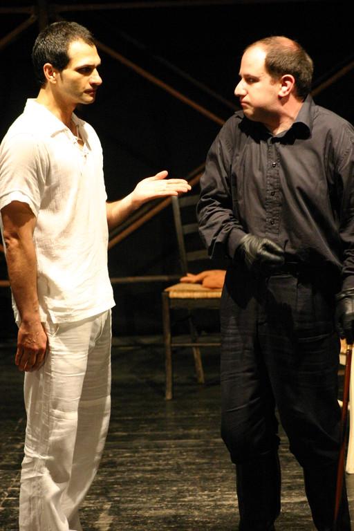 """Maggio 2007 - Teatro del Parco Tiburtino """"El Abanico""""(""""Il Ventaglio"""") :Gianfranco Fuggetta e Stefano Capecchi"""