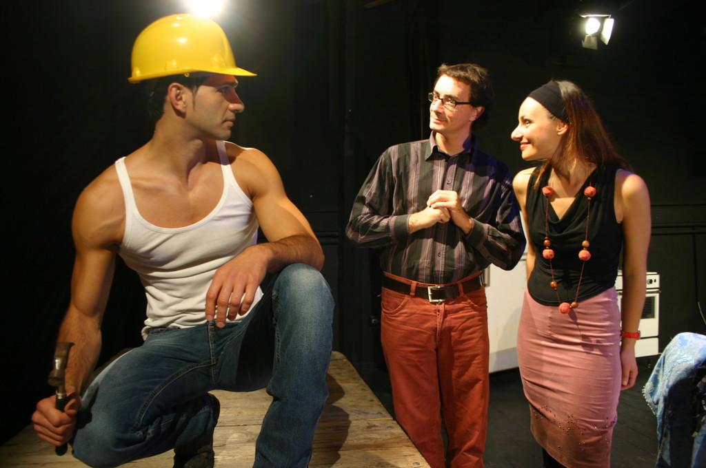 "Ottobre 2006 - ""My Fair Boy"" al Teatro del Parco Tiburtino:Gianfranco Fuggetta , Ilenia Cerioni , Luca MIlesi"