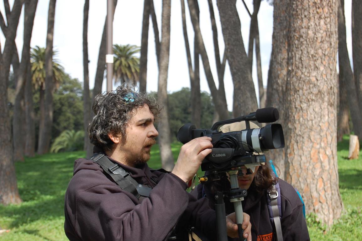 Acta General 2008 - Si gira il Documentario con la Regia di Manuel Molinu, alla SteadyCam Benjamino D'Amico