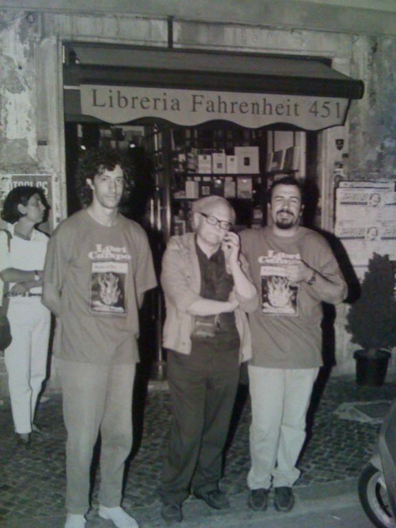 Massimiliano MIlesi con Gianni Toti e Federico Scanni