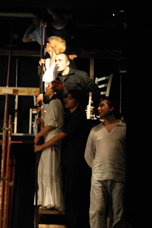 """Maggio 2007 - Teatro del Parco Tiburtino """"El Abanico""""(""""Il Ventaglio"""") : Foto della Coreografia di Carla Aversa"""