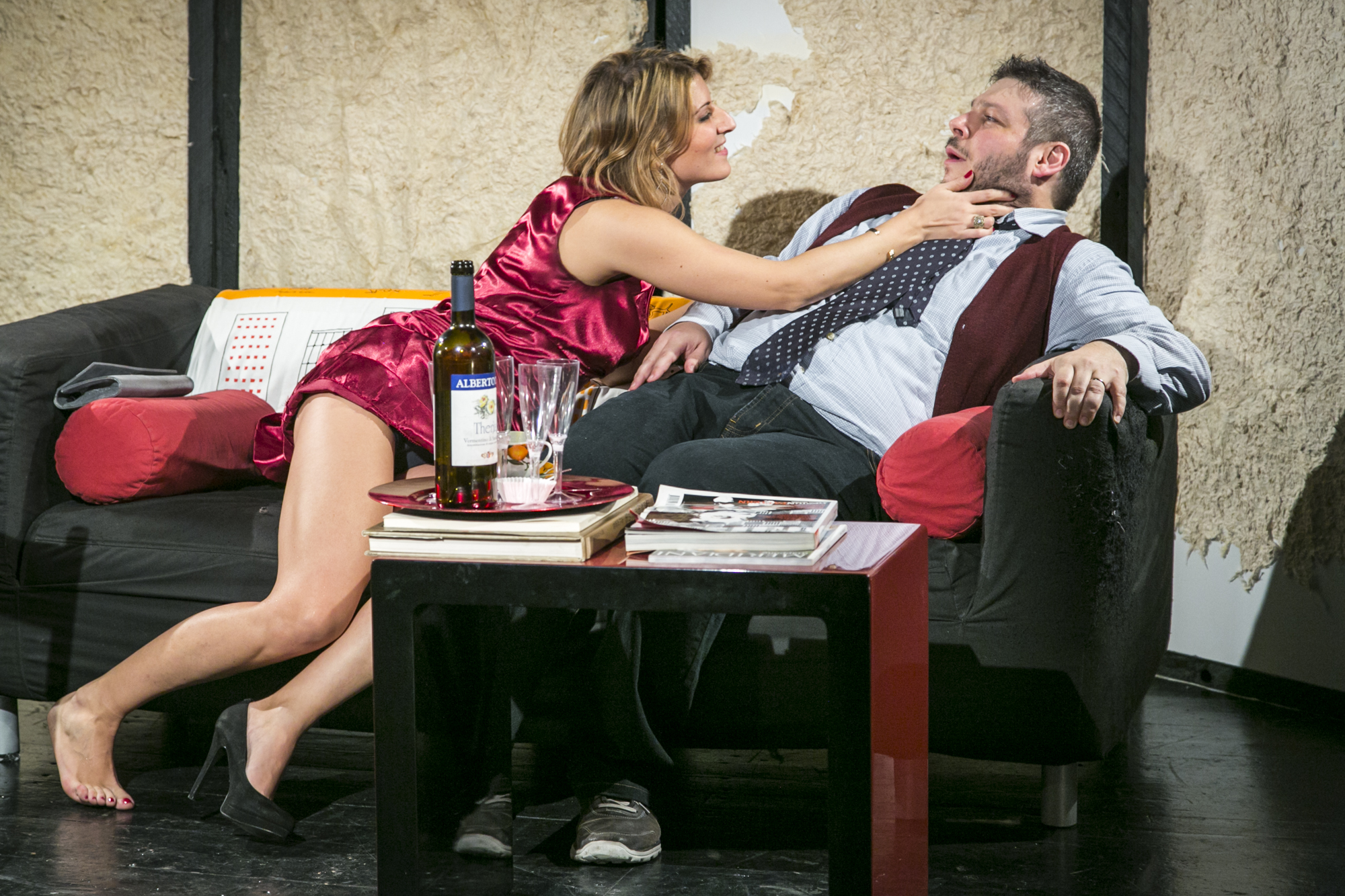"""Febbraio 2016 """"Mi ricordo di te"""" Teatro Elettra"""