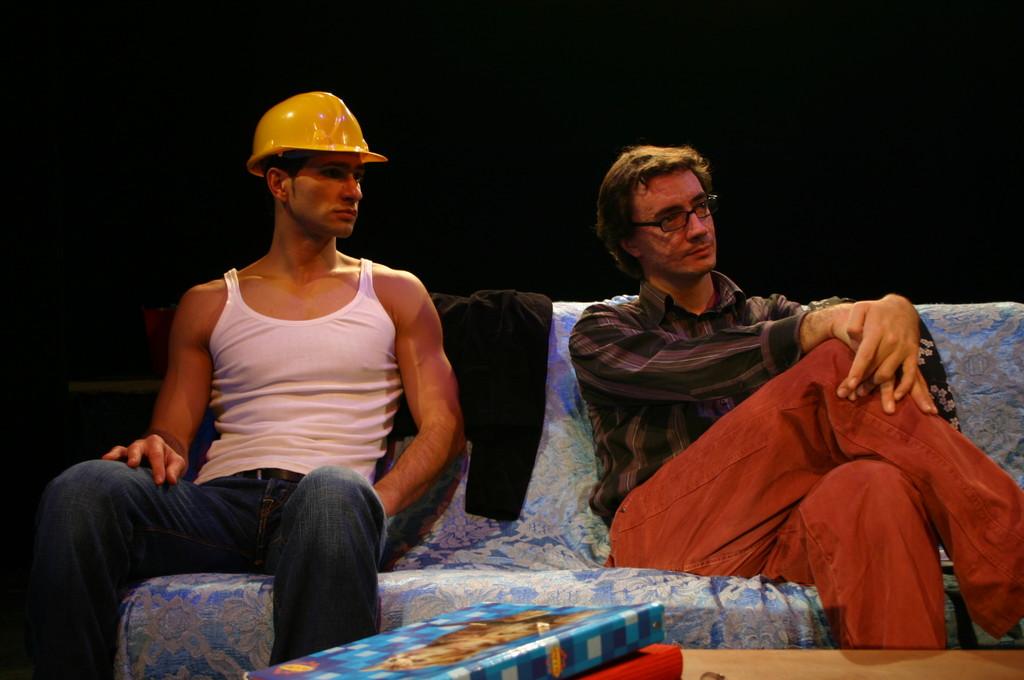"""Ottobre 2006 - """"My Fair Boy"""" al Teatro del Parco Tiburtino: Gianfranco Fuggetta e Luca Milesi"""
