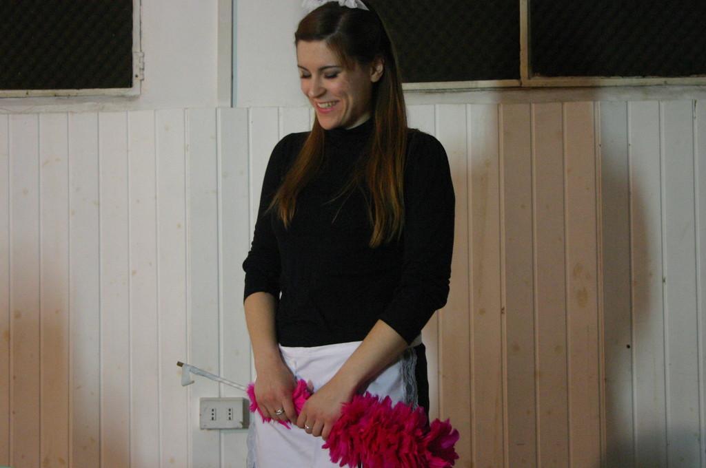 """Maggio 2009 - Backstage """"IL GIARDINO DEI CILIEGI"""" nella Sala Prove di Ciak'84 : Elena Cascelli"""