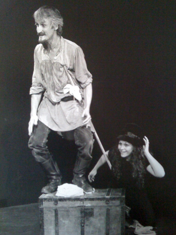 """Maggio 1998 - """"Don Chisciotte"""" di SEQUENZE al Teatro Agorà"""