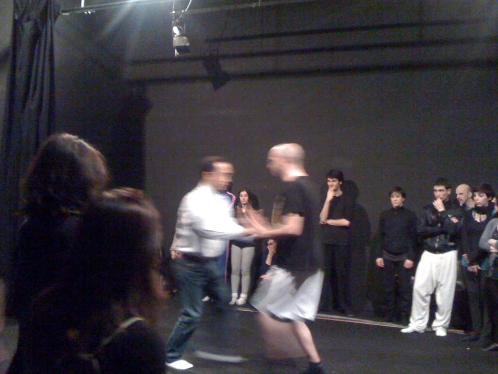 Stage con il Maestro Umewaka al Teatro Agorà. Febbraio-Marzo 2010