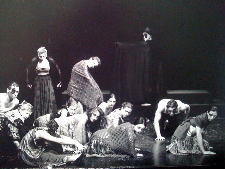 Giugno 1998 - Saggio di Primo Anno, diretto da César Corrales