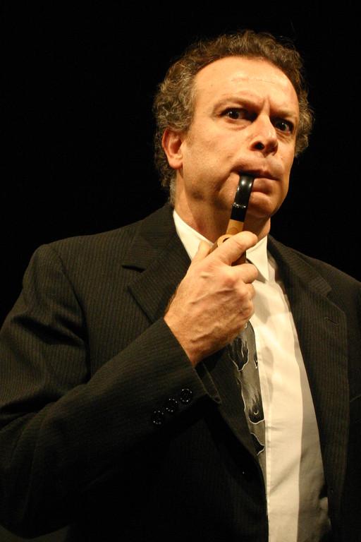 """Dicembre 2005 - """"Le Smanie per la Villeggiatura""""  al Teatro del Parco Tiburtino: Angelo Moriconi"""