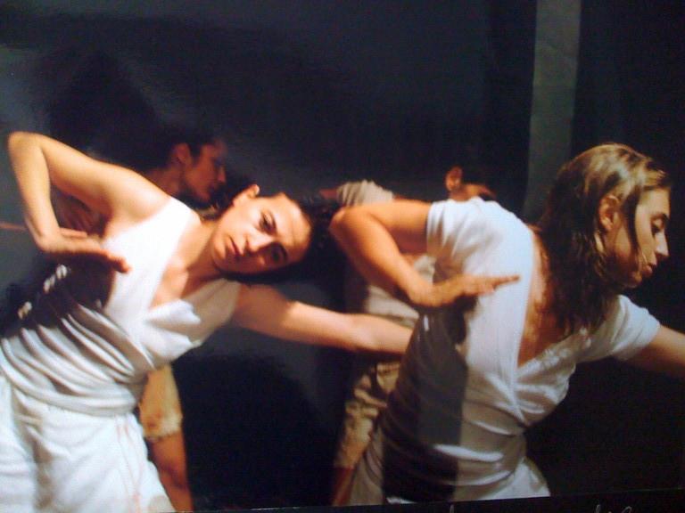 """Giugno 2004 - Saggio di Diploma """"La Gerusalemme Liberata"""" Regia di C.Corrales"""