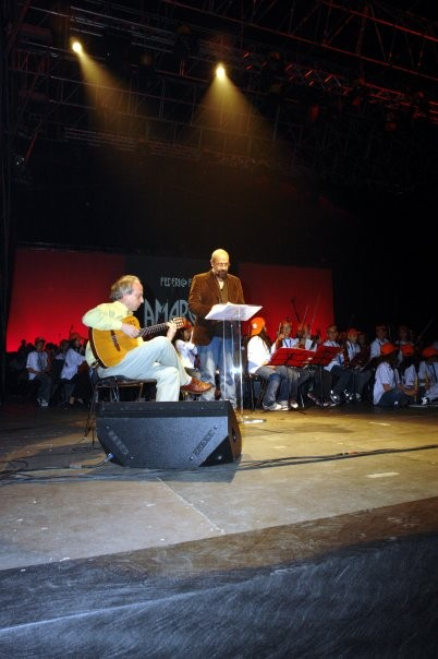 Maggio 2007 , Massimiliano Milesi partecipa ad uno Spettacolo al Gran Teatro, Presenta : Maria Teresa Ruta