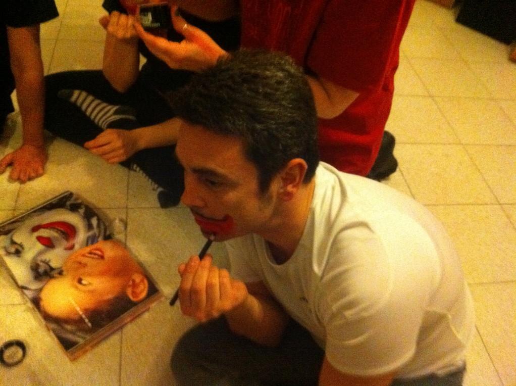 Prove di Clownerie, Sala Studio Toscani