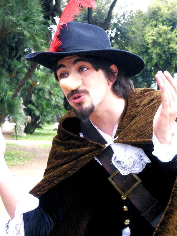 """ACTA GENERAL 2009 - Michele Uliano : """"Cyrano"""" da CYRANO di Rostand"""