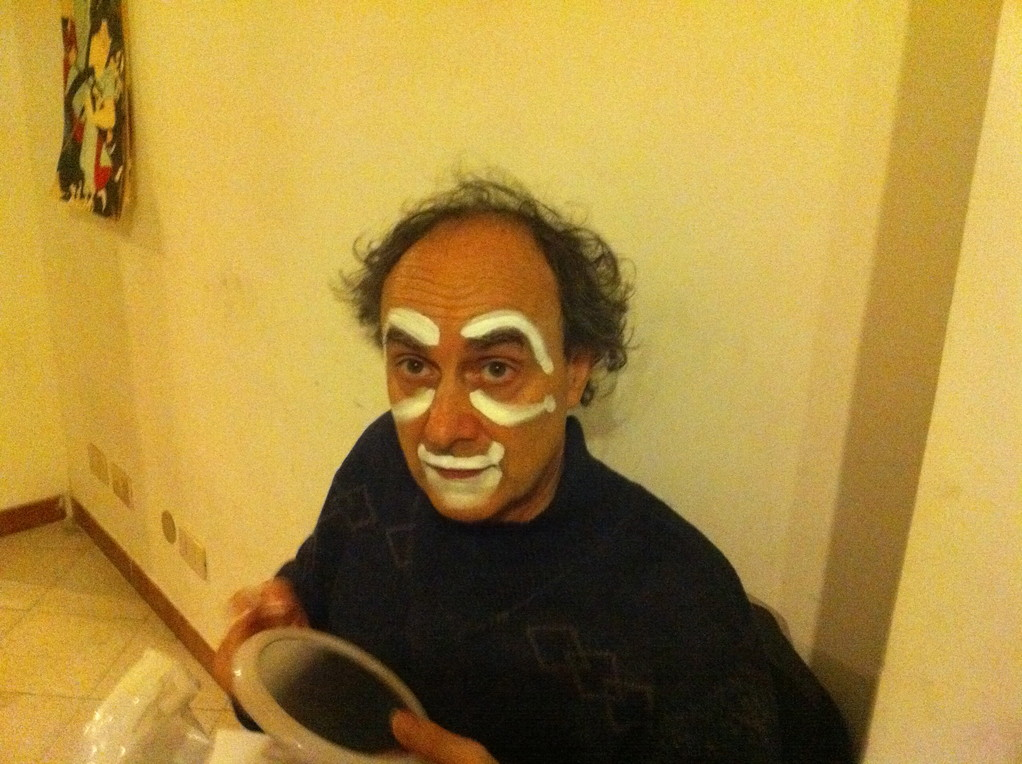 Wladimiro Lembo. Prove di Clownerie, Sala Studio Toscani