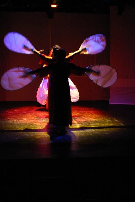 "Marzo 2007 - ""LOTUS SUTRA MEDITATION N°1"" Teatro del Parco Tiburtino"