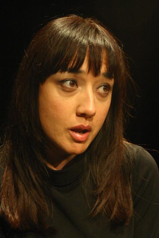 """Dicembre 2005 - """"Le Smanie per la Villeggiatura""""  al Teatro del Parco Tiburtino : Maria Pia Carlucci"""