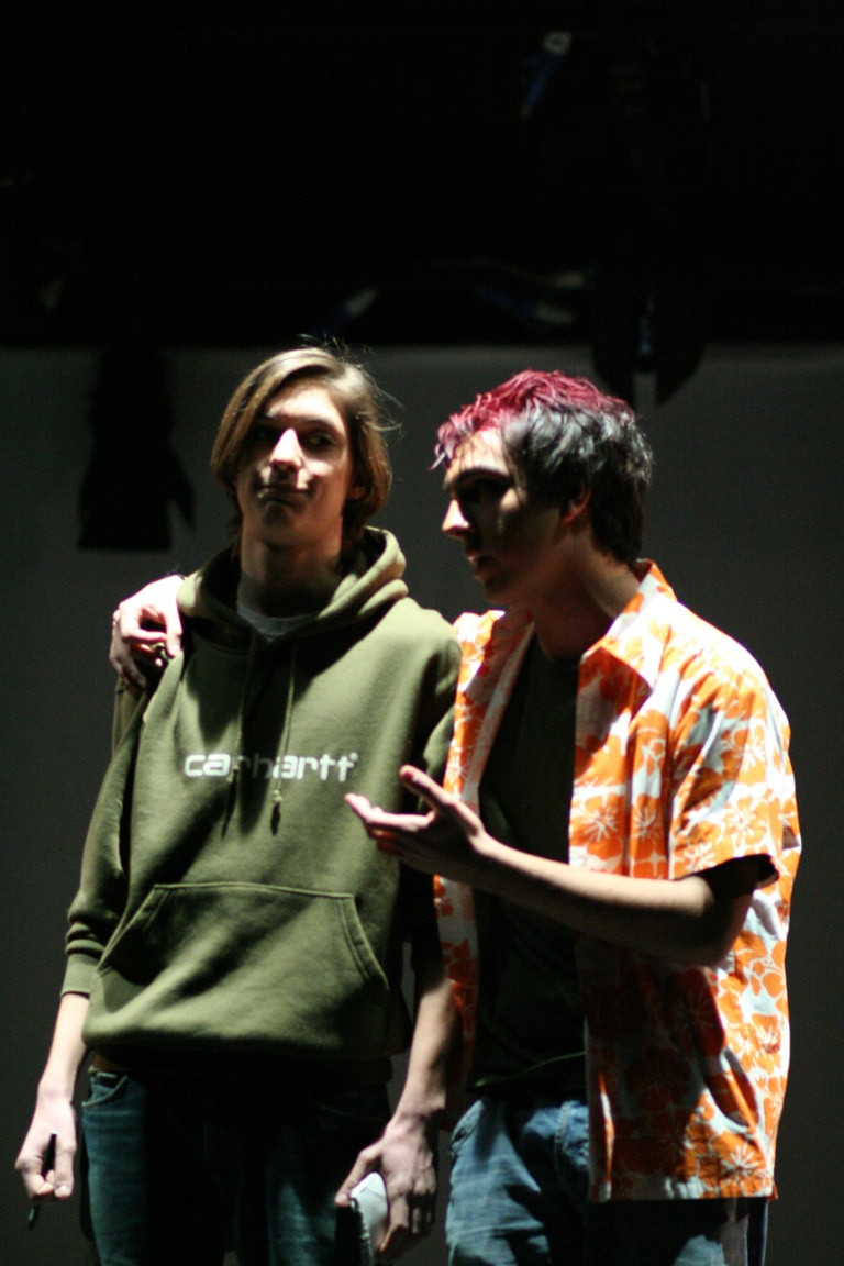 """Ottobre 2007 - Teatro del Parco Tiburtino- Saggio Allievi """"Romeo+Giulietta"""" Regia di Francesca Frascà, Movimenti Gianni Licata- Immagini Federico Manni"""