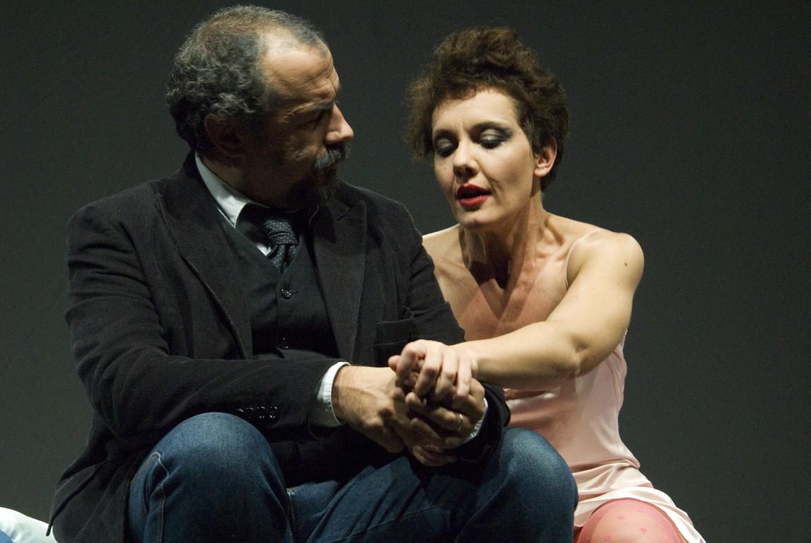 """Ottobre 2007 - """"Freddo Come la Notte"""" al Teatro del Parco Tiburtino: Massimiliano Milesi e manuela Di Salvia"""