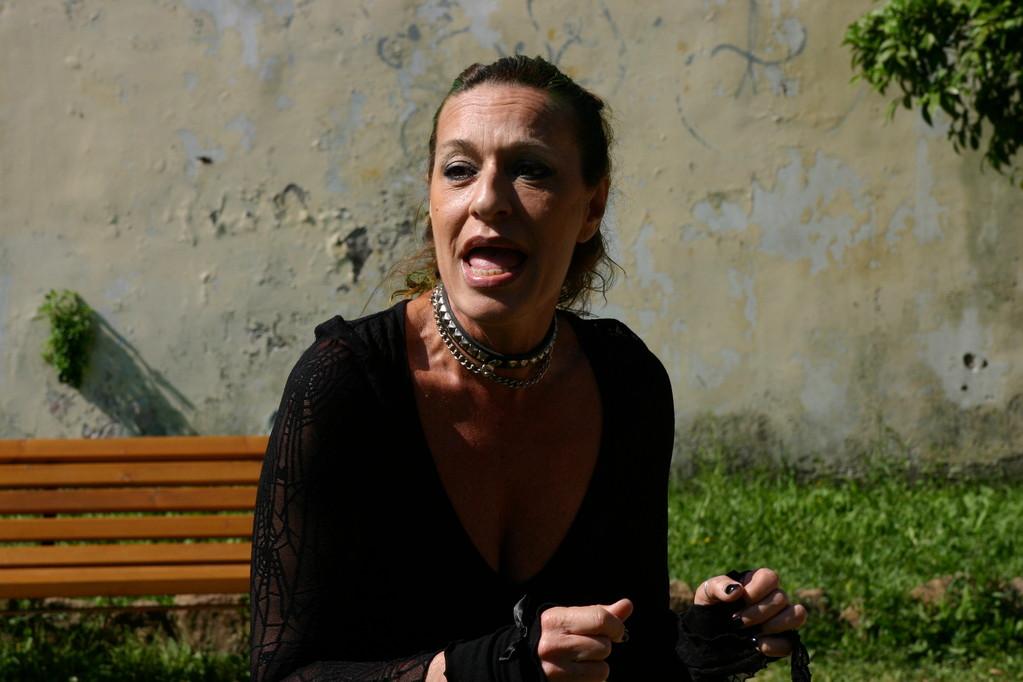 """Carla Cardarelli la """"Topastra"""" di Benni. Acta General 2010"""