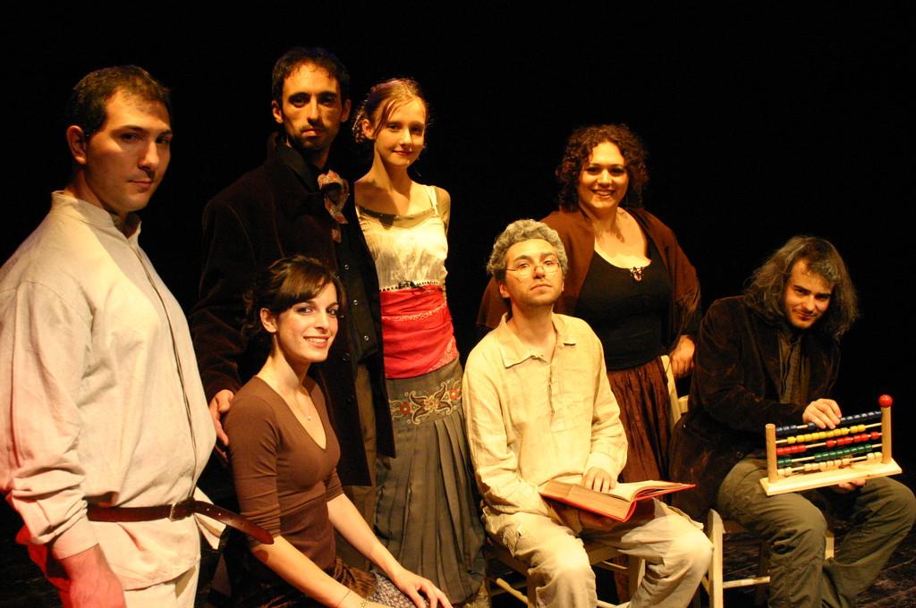 """Giugno 2008 - Teatro del Parco Tiburtino """"Cechov 1 e 1/2 """" : Foto di Gruppo"""